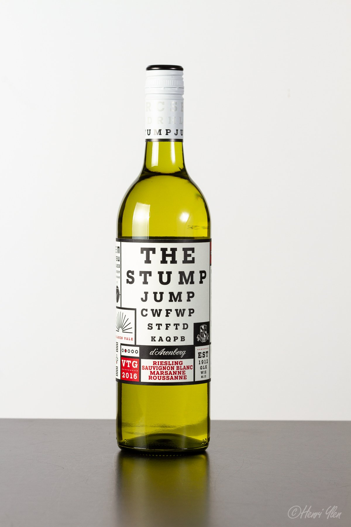 d'Arenberg Stump Jump White