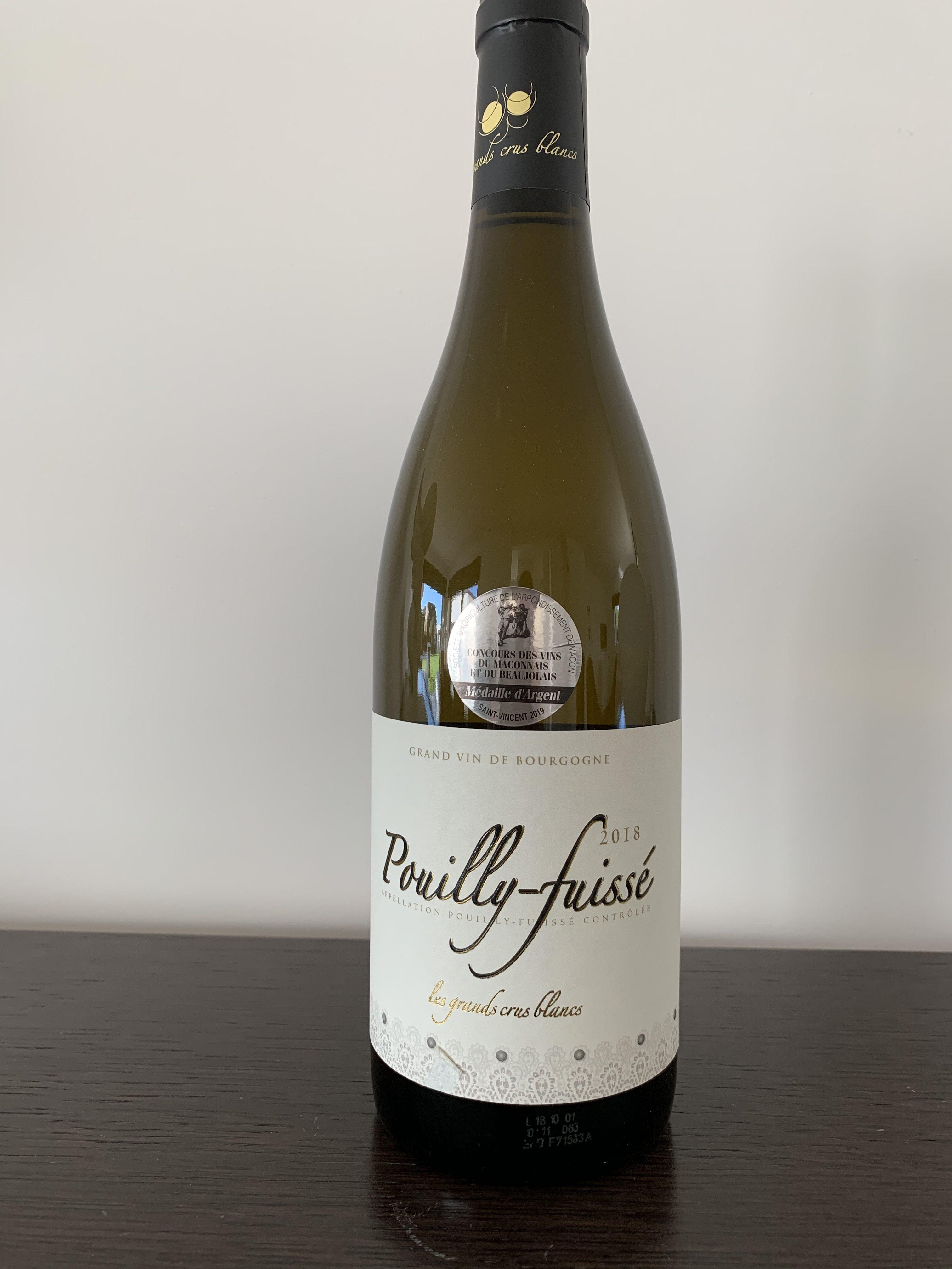 Bourgogne Pouilly Fuissé