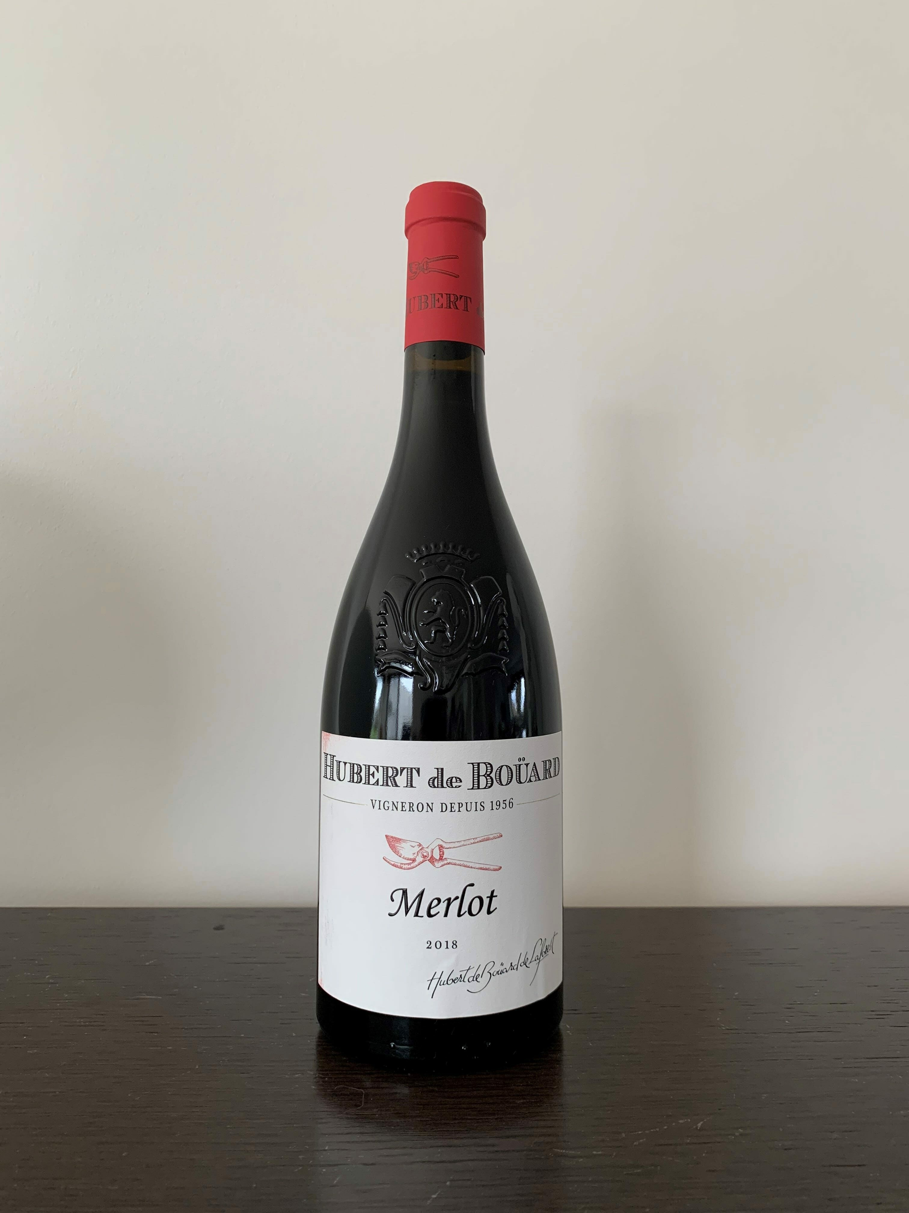 Hubert de Bouard Merlot