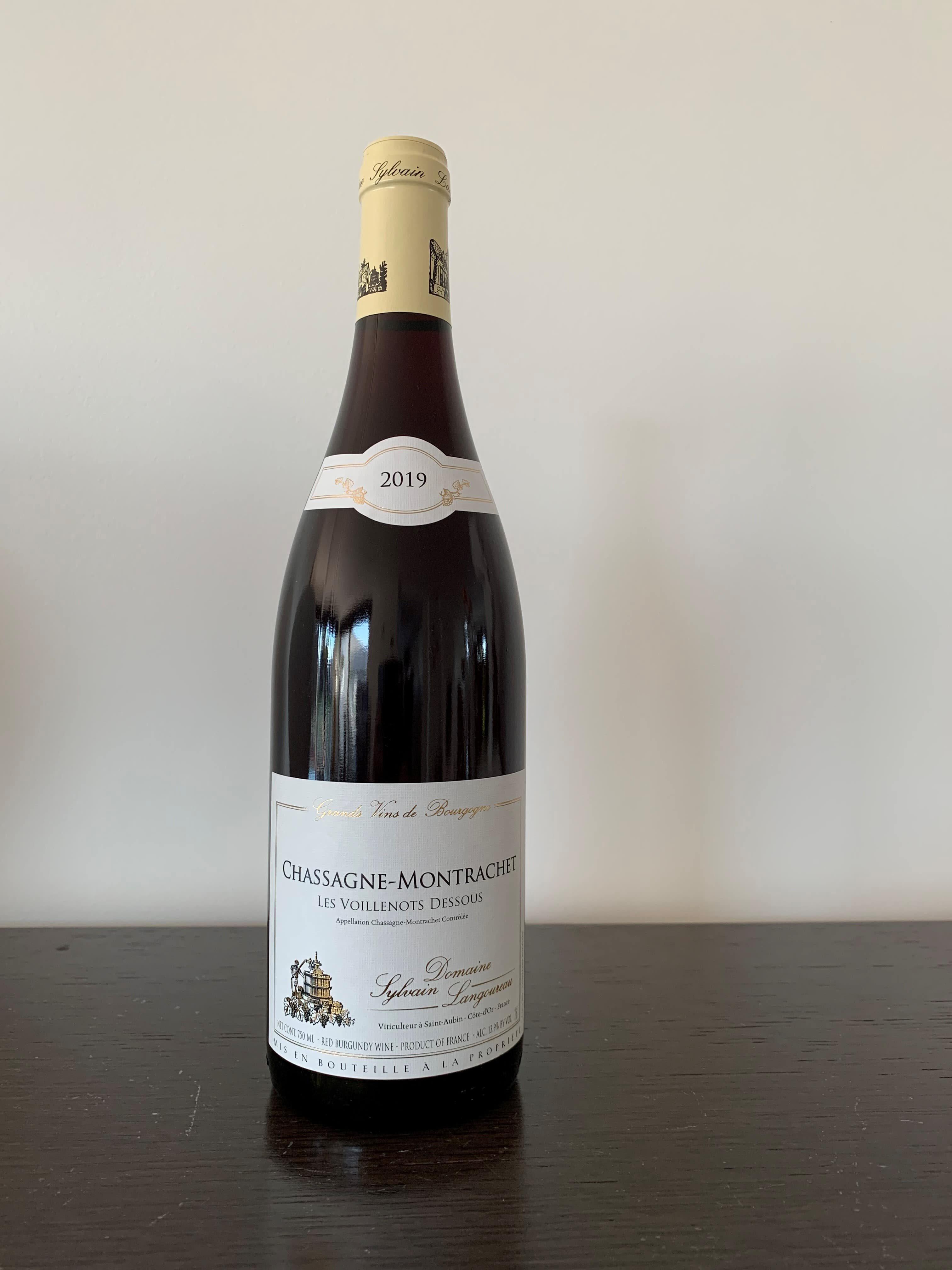 Chassagne Montrachet rood